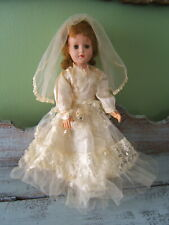 """Vintage 1950s American Character 18"""" Sweet Sue Walker Bride Doll Great Condition"""