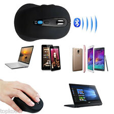 Wireless Mini Bluetooth Optical Mouse Mice 1600 DPI For Laptop PC Android tablet