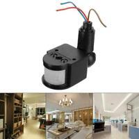 ED Outdoor 110-220 V Infrarot PIR Motion Sensor Detektor Licht Wand Schalte W8K8