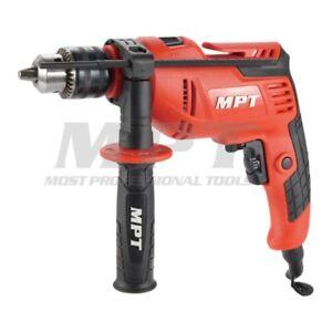 MPT Electric Drill Impact Hammer H/D Keyed 13mm 550 Watt