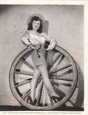 Fay McKenzie sexy leggy cowgirl VINTAGE Photo Singing Sheriff 1944
