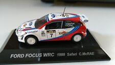 FORD FOCUS WRC 1999 SAFARY C. MCRAE RALLY 1/64 cm's