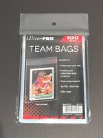 🔥 TEAM BAGS Ultra Pro Pack of 100 Resealable for sports trading cards SALE