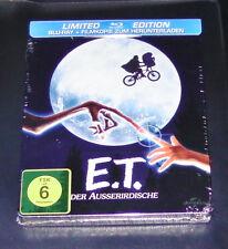 E.T. DER AUSSERIRDISCHE LIMITIERTE STEELBOOK EDITION  BLU RAY  NEU & OVP