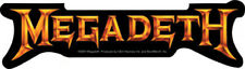 Megadeth - 'Peace Sells' Gold Logo - Sticker