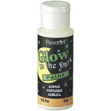 Glow in the Dark Paint and Medium 2 oz Blend with any Acrylic Paint