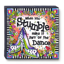 Suzy Toronto*WHEN YOU STUMBLE, MAKE IT PART OF THE DANCE*Canvas Wall Art*4049783