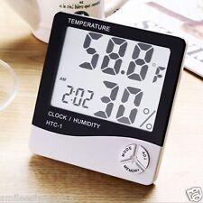 NEW HYGROMETER | Digital Temperature & Humidity Meter + Clock |HTC-1 HD