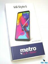 NEW LG Stylo 5 LMQ720 - 32GB - Silvery White (Metro Pcs) MetroPCS w SIM CARD