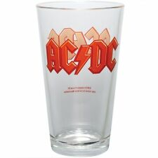 AC/DC Pint Glass Heavy Metal Brewiana Malcolm Angus Young Bon Scott Evans Rudd