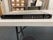 Cisco 26-Port Gigabit Smart Switch (SG200-26)