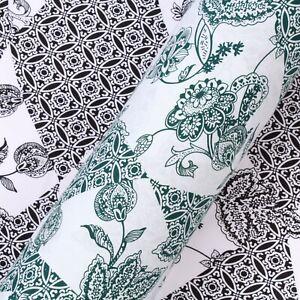 "100% Cotton Lawn, Floral Henna, Summer, High Quality 58"" FGL353"