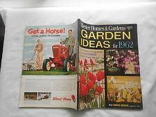 BETTER HOMES & GARDENS GARDEN IDEAS FOR 1962