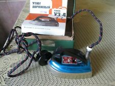 USSR Vintage electric road iron - WORKS. Miniature -The ideal state...SEE PHOTO