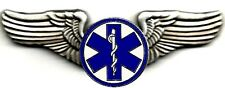 Classic Star of Life #2 (EMT) USAF Style Pilot/Flight Wings