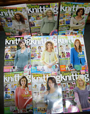 Joblot 9 x Simply Knitting Magazines January 2009 - September 2009