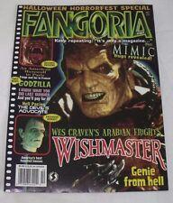 Fangoria Magazine 167 October 1997 Horror Wishmaster American Werewolf in Paris