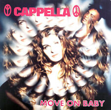 Cappella CD Single Move On Baby - France (EX/EX+)