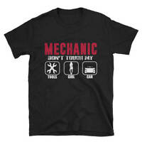 Funny Mechanic Car Fixer TShirt Don't Touch My Tools Short-Sleeve Unisex T-Shirt