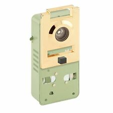[NEW] Prime-Line U 10814 200 Degree Metal Brass Door Viewer with Chime