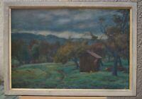 Otto GROSS (1898-1970 Stuttgart) - Dunkler Herbsttag - handsigniertes Ölgemälde