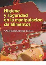 HIGIENE Y SEGURIDAD EN LA MANIPULACION DE ALIMENTOS. ENVÍO URGENTE (ESPAÑA)