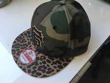 Rare Design New Era 9Fifty Strapback San Fran Giants Camo/Animal Print Cap BNWT