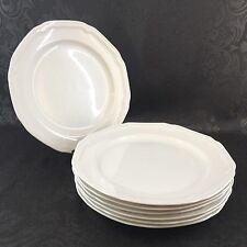 Mikasa Ultima Antique White Scalloped HK400 Vintage 1 Of 3 Dinner Plates