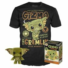 Funko Pop Gizmo As a Gremlin T-Shirt and Pop Box Set **In Hand*