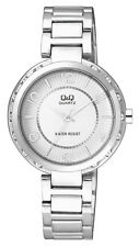 Q&Q by Citizen F531J204Y Superior Crystal Accented Silver Tone Women's Watch
