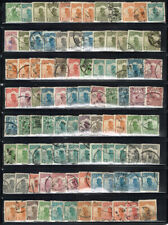 CHINA LARGE LOT OF USED JUNK BOAT STAMPS WITH CANCEL POTENTIAL #5
