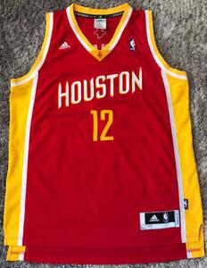 085 Houston Rockets #12 Dwight Howard NBA Adidas Basketball Jersey Mens L