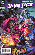 JUSTICE LEAGUE #20 - New 52 - VARIANT COVER