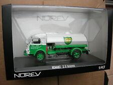 """Norev 1/43 Camion Renault Galion 2 5t 1960 citerne petroliere """"bp"""""""