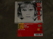 U2 War Japan CD