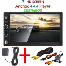 """GPS Android 4.4 CAR HD 7"""" 2 DIN STEREO MP3 MP5 RADIO PLAYER BLUETOOTH+Camera"""