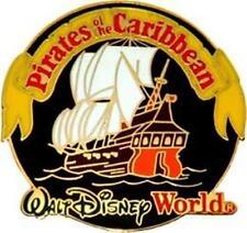 PIRATES Of The CARIBBEAN Ship LOGO WALT DISNEY WORLD WDW Older DISNEY PIN