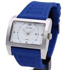 Men's Rectangle Matte Analogue Wristwatches