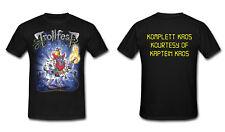Trollfest-Kaptein Kaos-Big shirt Plus Size Xxxxxl 5xl Oversize grande taille