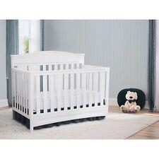 Delta Children Essington 4-in-1 Convertible Baby Crib, White NEW LOCAL PICKUP La
