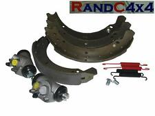 6043 Land Rover Series 2 2a 3 SWB Rear Brake Shoe & Wheel Cylinders Kit to80