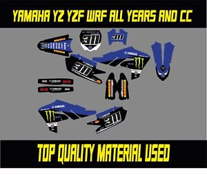 Yamaha YZ YZF WR WRF 65 85 125 250 450  GRAPHICS KIT DECALS STICKERS