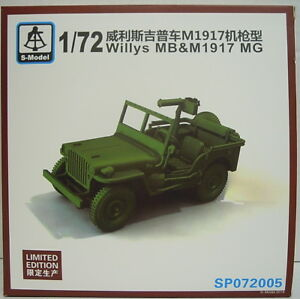 Willys MB And MG Mod.1917, 1/72, S-Model, Limited Special Edition, New