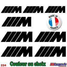 8 Stickers Autocollants M - Motorsport Performance GT X1 X2 X3 X4 Z1 Z3 Z4 - 224