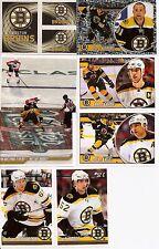 2010-11 Panini Stickers Boston Bruins Complete Team Set (14)