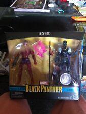 Marvel Legends Black Panther Marvel's Klaw & Shuri NIP VHTF