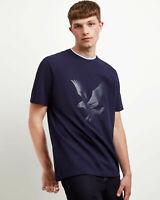 Lyle and Scott Men Pique Logo T-Shirt - Cotton