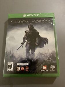 Middle Earth Shadow Of Mordor Xbox One New Sealed