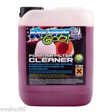 5 Litre Biodegradable Rhino goo Foam air filter cleaner for motocross bike