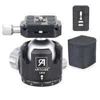 44mm Low Profile Ball Head Tripod Head for Tripod Camera Double Panoramic CNC